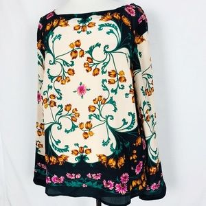 Anthropologie Maeve NWT Size 12 Florence Silk Top